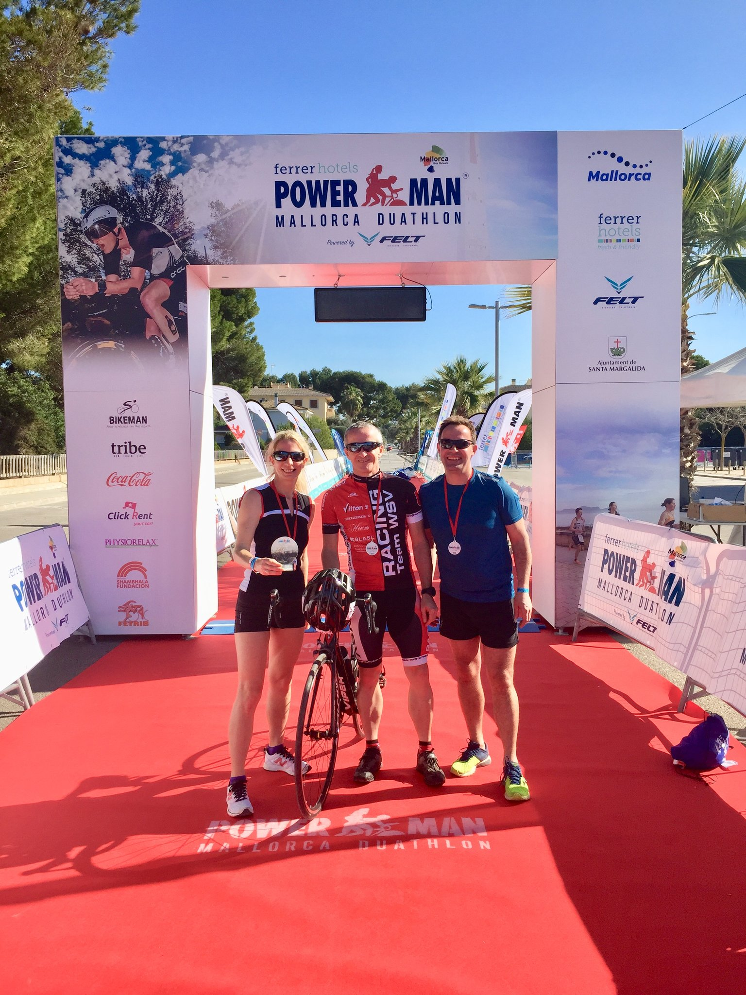 3. Platz Powerman Mallorca