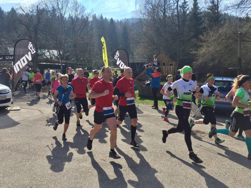 Läufer beim Start