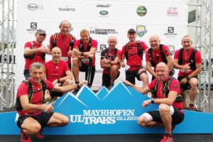 Trailrunner beim Mayrhofen Ultraks Zillertal