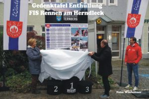 Read more about the article Gedenktafel an FIS Rennen am Herndleck